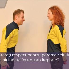 """Principiul numărul  11: Arată respect pentru părerea celuilalt. Nu spune niciodată """"Nu, nu ai dreptate"""""""
