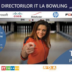 Un nou eveniment pentru responsabilii IT se apropie - Cupa Directorilor IT la Bowling!