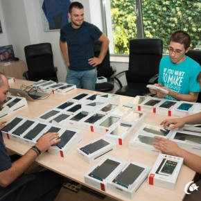 70 de tablete ale clientului, o singură aplicație dezvoltată de Class IT