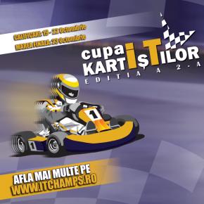 Peste 100 directori IT sunt așteptați la a 2-a ediție din Cupa KartIșTilor, pentru o nouă competiție antrenantă!