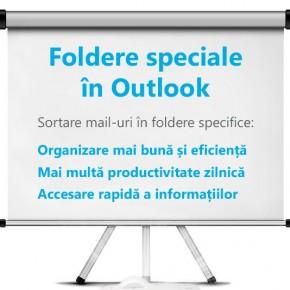 Creează foldere în Outlook, pentru o mai bună organizare a email-urilor