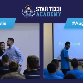 Welcome aboard party #StarTechAcademy #Iulie & #August